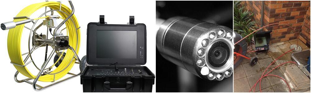 CCTV Drain Surveys using mini Drain Cameras - Birmingham, Walsall, Dudley, West Bromwich, Redditch