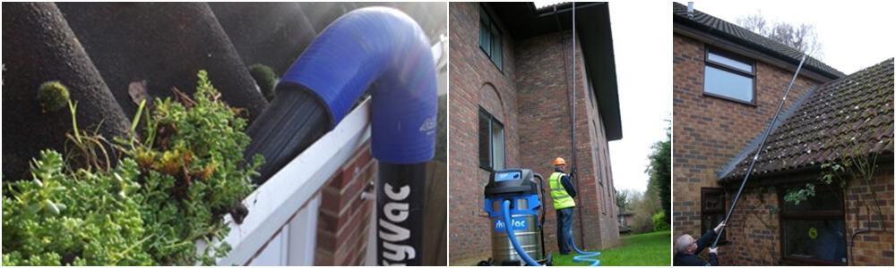 Gutter Cleaning - Birmingham, Worcester, Kidderminster, Walsall