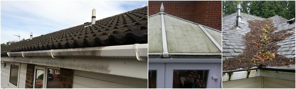 High-Roof, Roof Valley, Fascia & Conservatory Cleaning - Birmingham